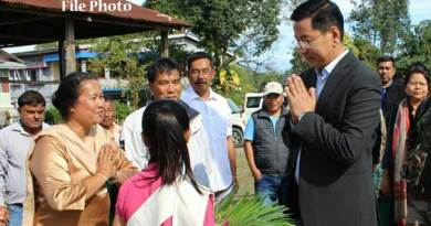 Mohesh Chai receive Warm Welcome in Tezu