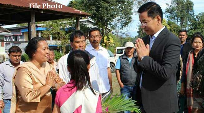 Mohesh Chai receive Warm Welcome in Tezu
