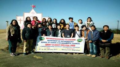 Photo of Ziro- Week Long Anthropological Fieldwork Concluded