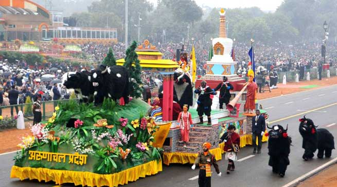 Story Behind the conceptualisation and designing of Arunachal Pradesh Tableau for Republic Day Celebration 2017.
