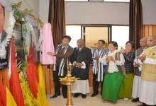 Photo of Khandu inaugurates Tadar Taniang Hall