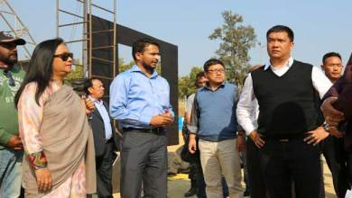 Photo of Khandu Review the preparation for Statehood Day