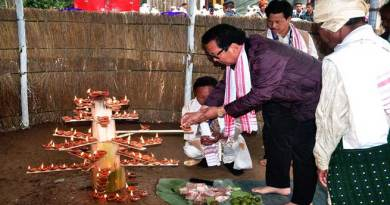 Naharlagun-Tai Ahom community celebrates Me-Dam-Me-Phi