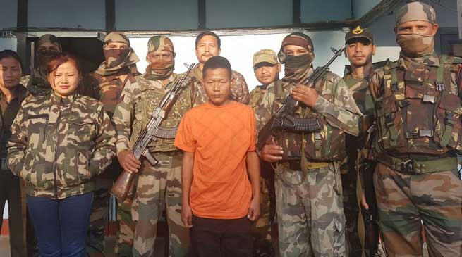 Extortionist arrested from Miao Town