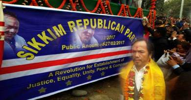 Jorethang- BK Rai Launches Sikkim Republican Party