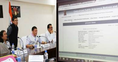 Now Arunachal Govt Accept Public Grievances online