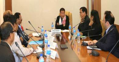 Khandu Reviewed the Comprehensive Scheme for T&D