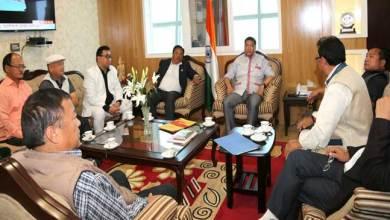 Photo of Khandu holds pre-budget consultation with former legislators