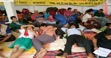 Kokrajhar- ABSU indefinite Hunger Strike entered 3rd Day