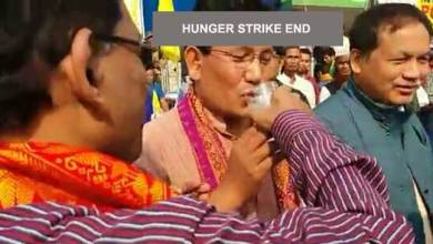 Photo of Kokrajhar- ABSU called off the indefinite hunger strike