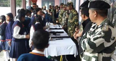 Shillong-BSF Organises Interactive Session with School Children