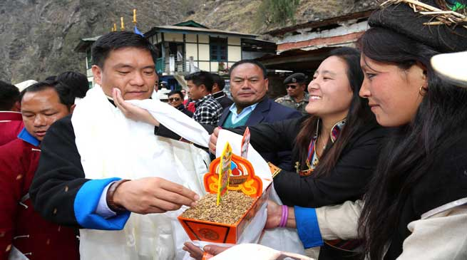 Photo Story- CM Khandu Visits Gorsam Mela