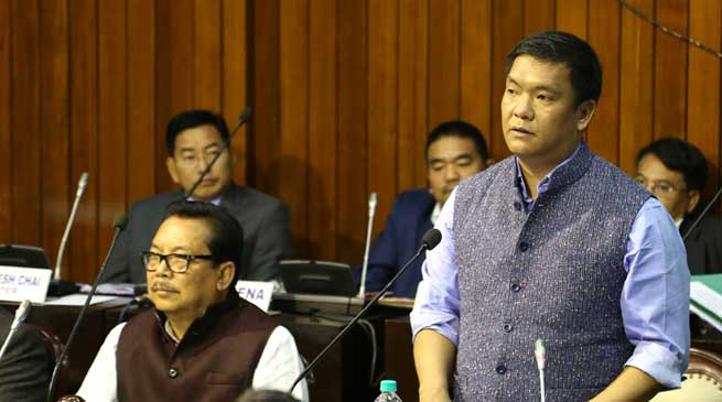 Arunachal- House Passes Motion of Thanks on Guv Address