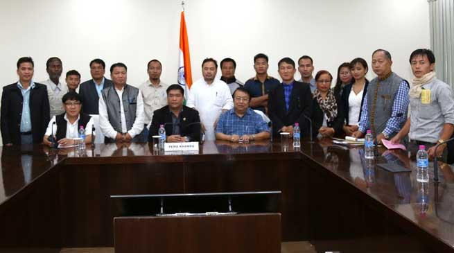 Khandu assures JWCAPTU to look into their demands