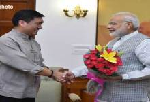 CM Khandu Congratulates PM Modi