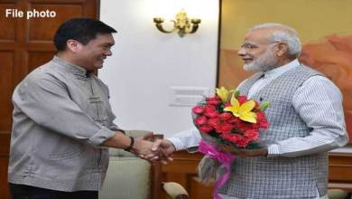 Photo of CM Khandu Congratulates PM Modi