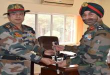 Photo of PS Behl New GOC Of Red Horns Division