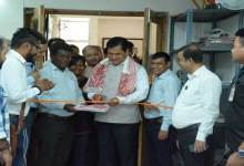 Photo of Sonowal inaugurates Press Lounge in New Delhi