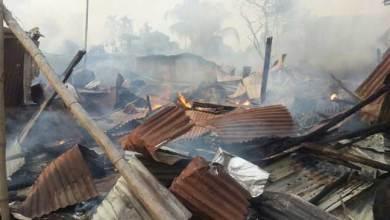 Dibrugarh- 20 Shops Gutted in a Fire