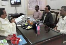 NABARD GM meets Dy CM Chowna Mein