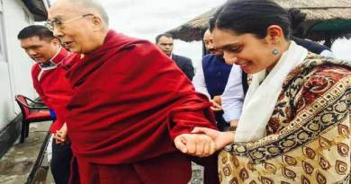 PHOTOS of Dalai Lama during his Road Journey to Bomdila