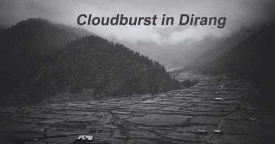 Cloudburst in Dirang of Arunachal Pradesh