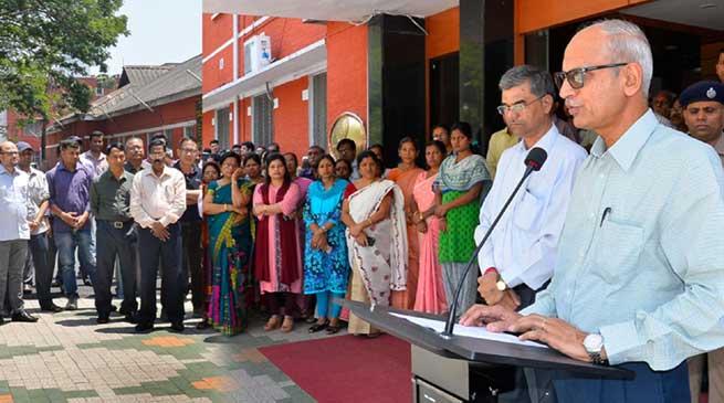NFR Observed 126th Anniversary of Dr B R Ambedkar