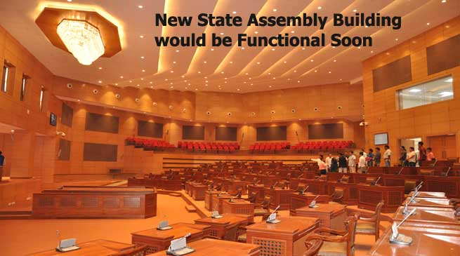 New State Assembly Building would be Functional Soon
