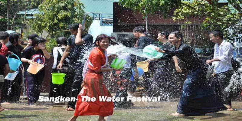 Sangken- The festival of Water begins