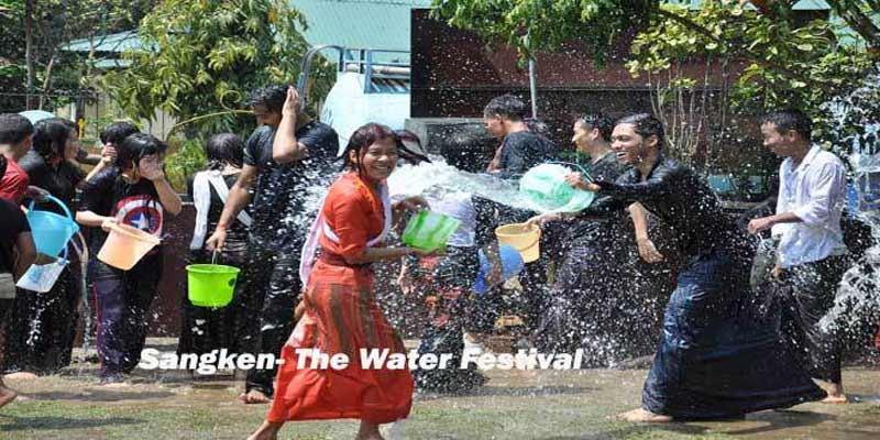Sangken- The festival of Water begins