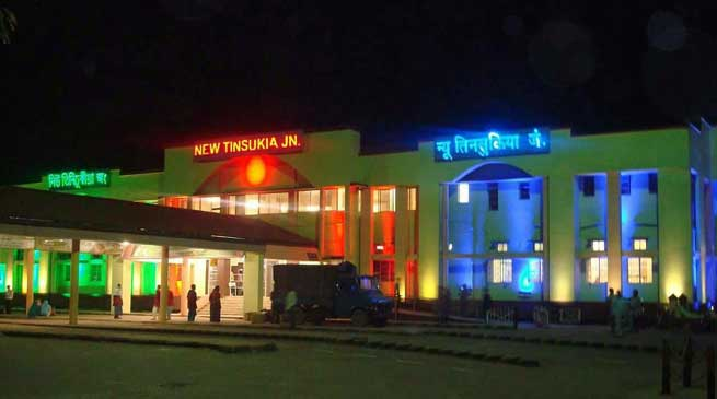 Creditable performance by Tinsukia Division of N.F. Railway