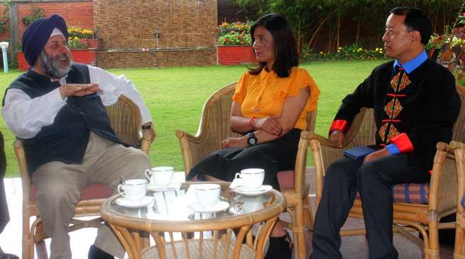 Indian Mission in Nepal honours Anshu Jamsenpa in Kathmandu