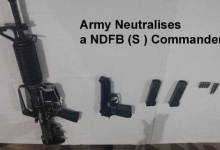 Army Neutralises a NDFB (S ) Commander