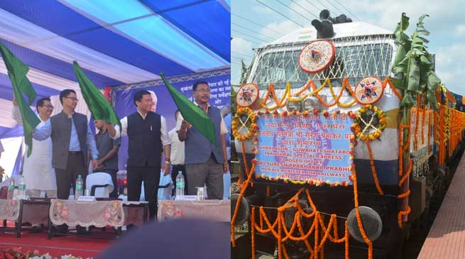 Arunachal gets Shatabdi Train from Naharlagun-Guwahati