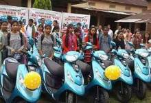 Photo of Bodoland Girl Students gets Scooty
