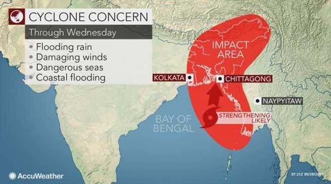 Cyclonic Storm Mora- Khandu appeals for precaution and preventive measures