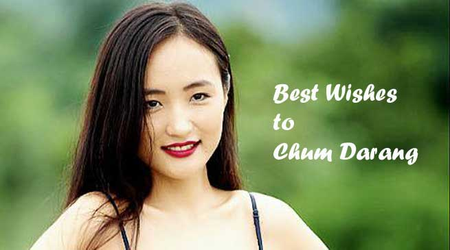 Miss Asia Pageant 2017- Chum Darang of Arunachal Represent India
