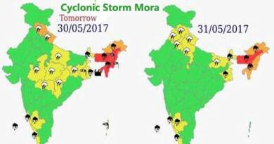 Cyclonic storm 'Mora' may trigger rain in northeast