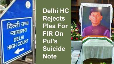 Photo of Delhi HC Rejects Plea For FIR On Pul's Suicide Note, Slaps Rs. 2.75 Lakh Fine On Petitioners