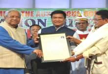 Photo of NIFCS, IFSAP Felicitates Dr Nabam Tata