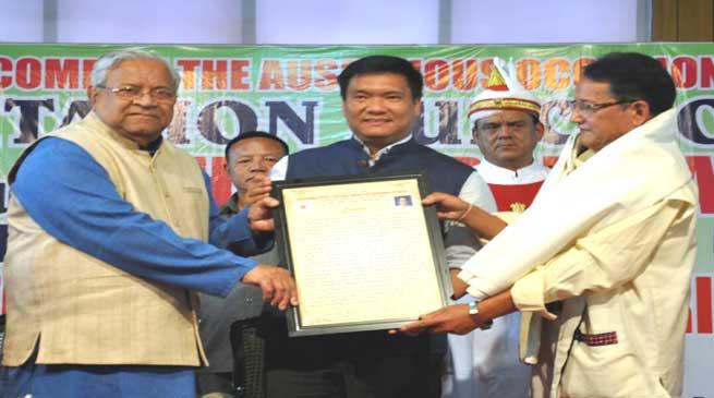 NIFCS, IFSAP Felicitates Dr Nabam Tata