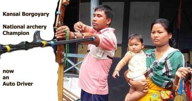 Kansai Borgoyary- National archery champ now an Auto driver