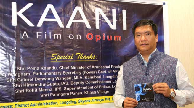 Khandu Releases Documentary Film on Opium