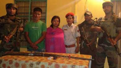 Photo of Army Apprehended 2 NDFB(S) Cadres