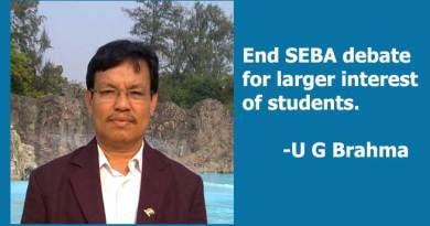 End SEBA debate for larger interest of students: Urkhao Gwra Brahma