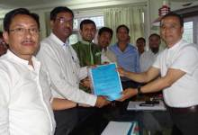 Photo of Agreement signed for NH-415 from Chandanagar to Papu Nallah
