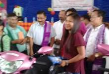 Photo of BTC distributes scooties to meritorious girl students