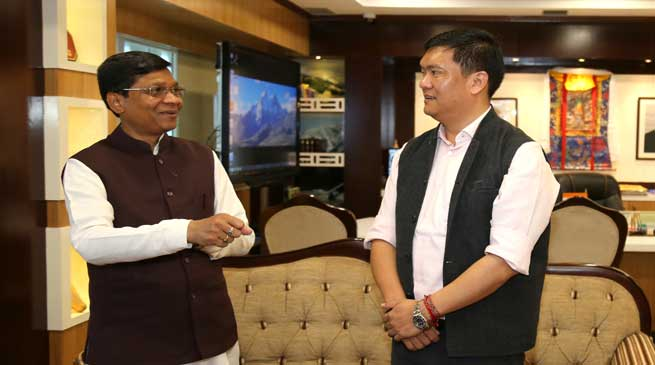 Khandu request centre for a full-fledged Agriculture University