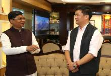 Photo of Khandu request centre for a full-fledged Agriculture University