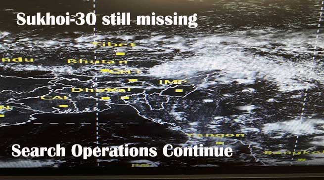 Sukhoi-30 still missing, search operations continue